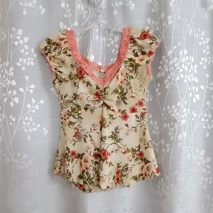 Like new! Charlotte Russe babydoll top